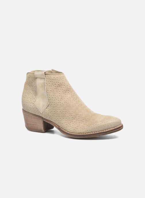 c5998e7c303 Ankelstøvler Khrio Clarina Beige detaljeret billede af skoene