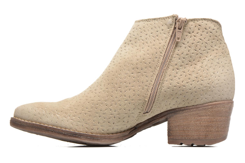 Bottines et boots Khrio Clarina Beige vue face