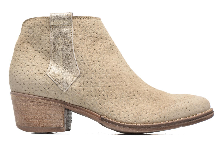 Bottines et boots Khrio Clarina Beige vue derrière