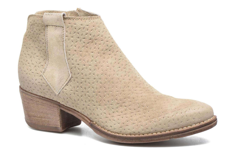 Bottines et boots Khrio Clarina Beige vue détail/paire