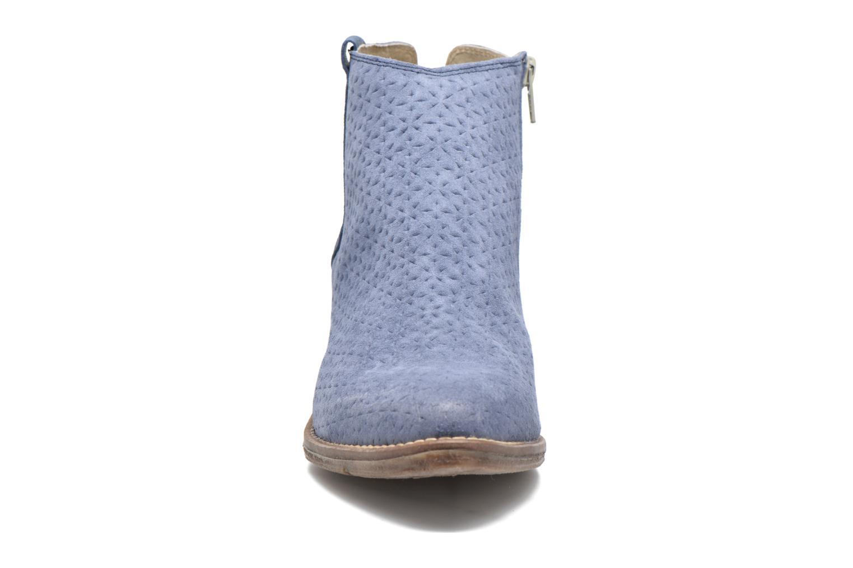 Bottines et boots Khrio Clarina Bleu vue portées chaussures