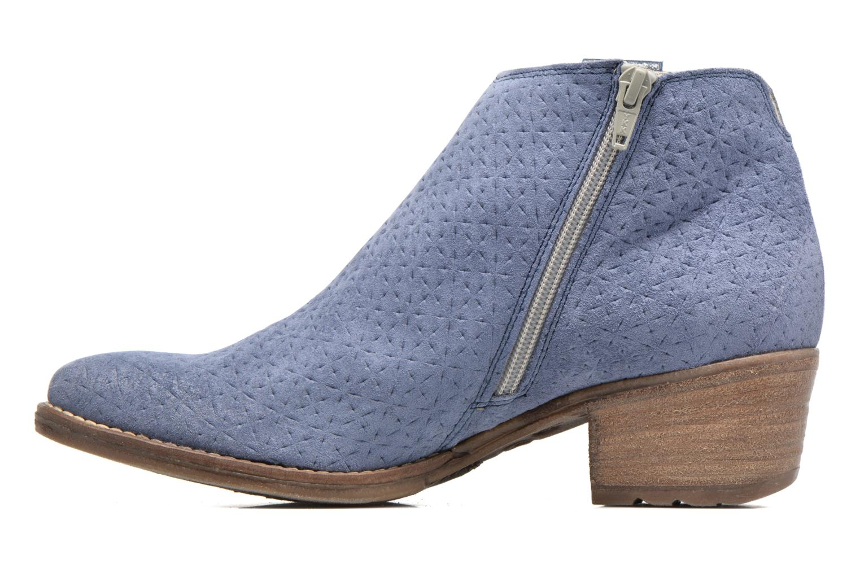 Bottines et boots Khrio Clarina Bleu vue face