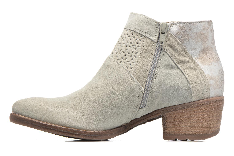 Boots en enkellaarsjes Khrio Clemie Beige voorkant