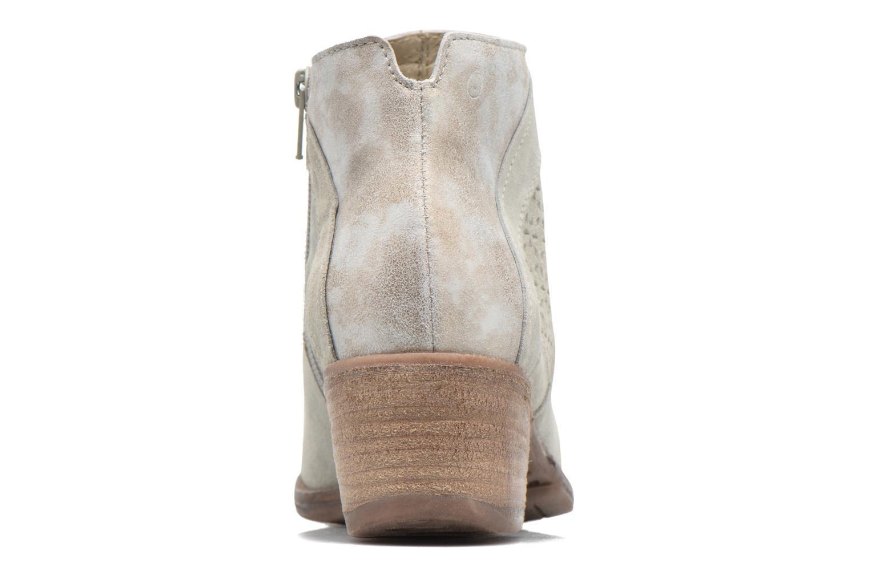 Boots en enkellaarsjes Khrio Clemie Beige rechts