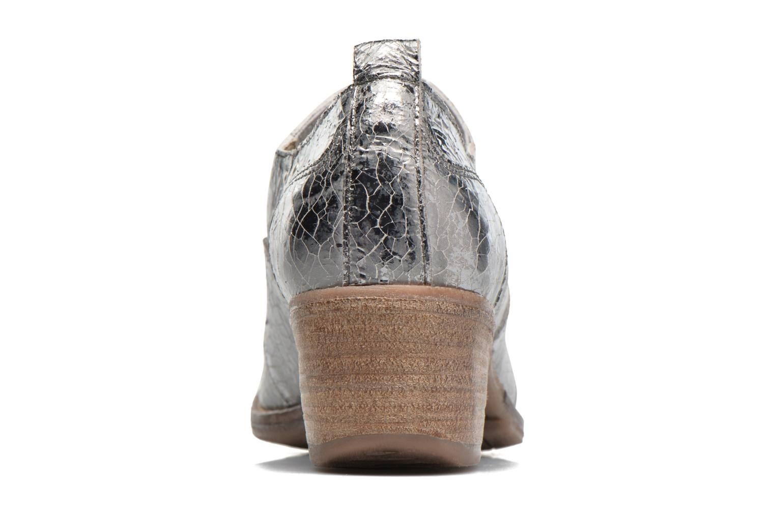 Ankle boots Khrio Fanelie Silver view from the right