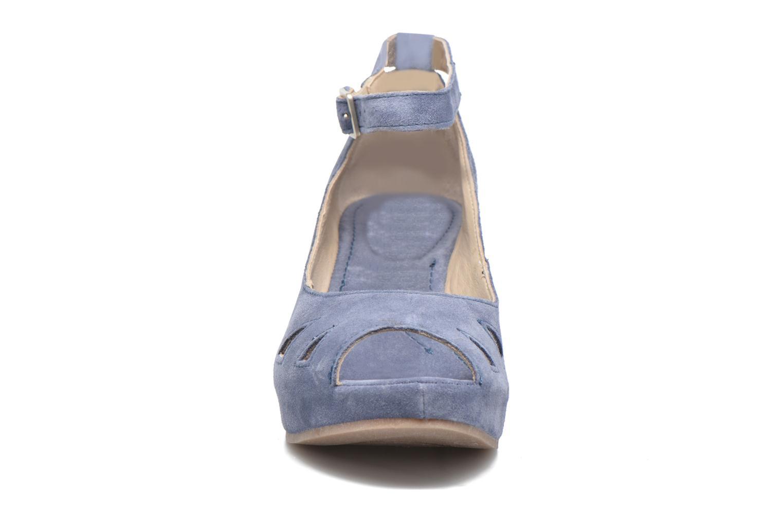 Sandales et nu-pieds Khrio Cylia Bleu vue portées chaussures