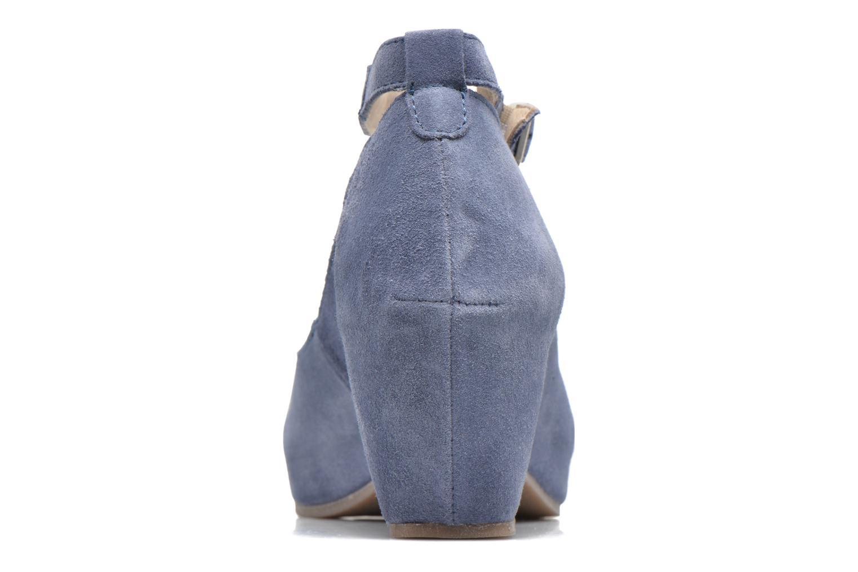 Sandales et nu-pieds Khrio Cylia Bleu vue droite
