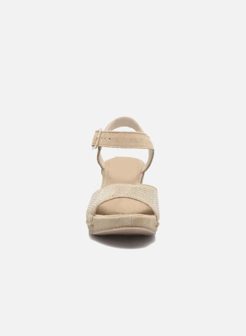 Sandals Khrio Maddie Beige model view