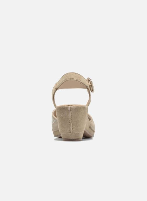 Sandals Khrio Maddie Beige view from the right