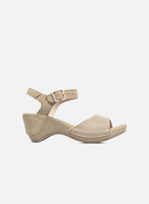 Sandales et nu-pieds Khrio Maddie Beige vue derrière