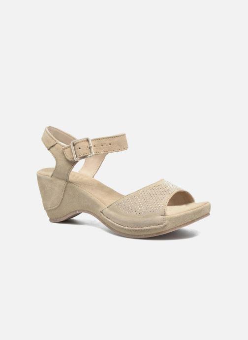 Sandales et nu-pieds Khrio Maddie Beige vue détail/paire