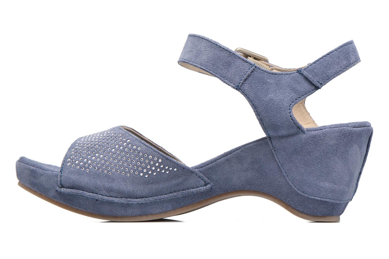 Sandales et nu-pieds Khrio Maddie Bleu vue face