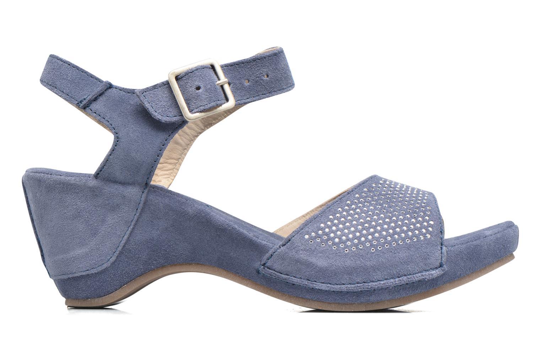 Sandales et nu-pieds Khrio Maddie Bleu vue derrière