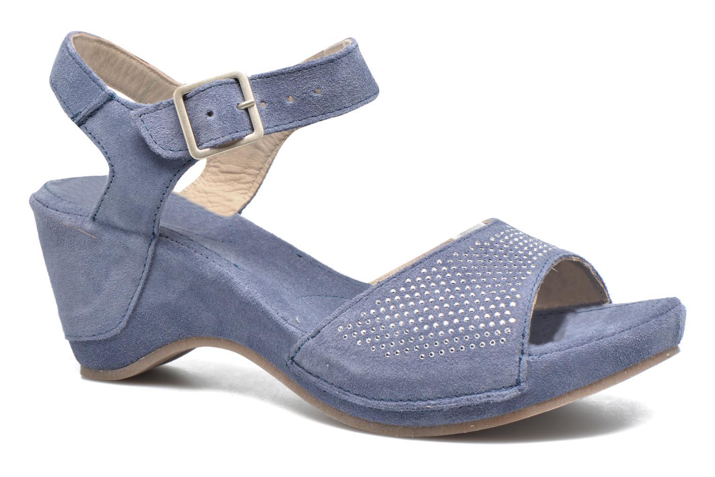 Sandales et nu-pieds Khrio Maddie Bleu vue détail/paire