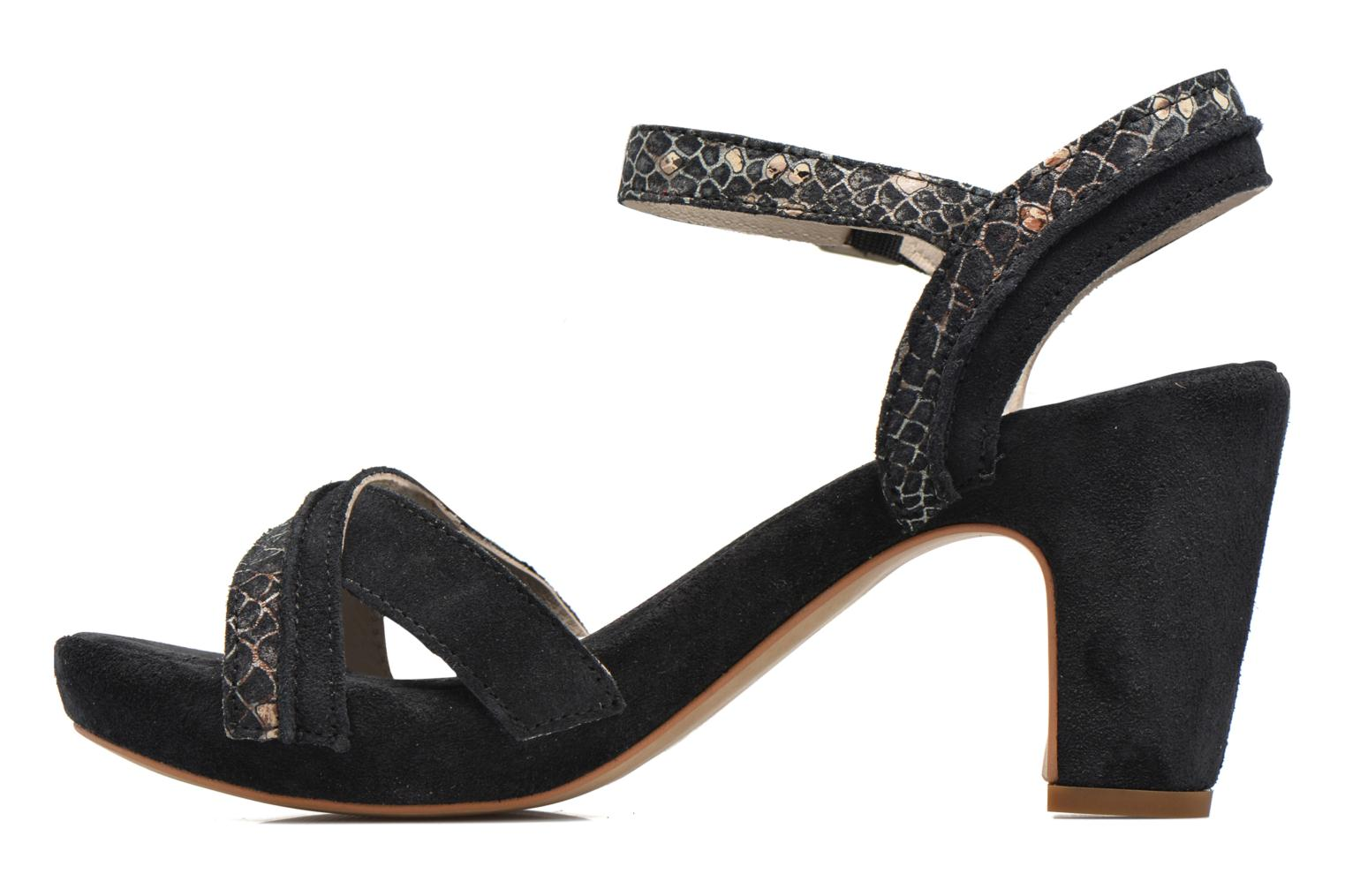 Sandals Khrio Chrisly Black front view