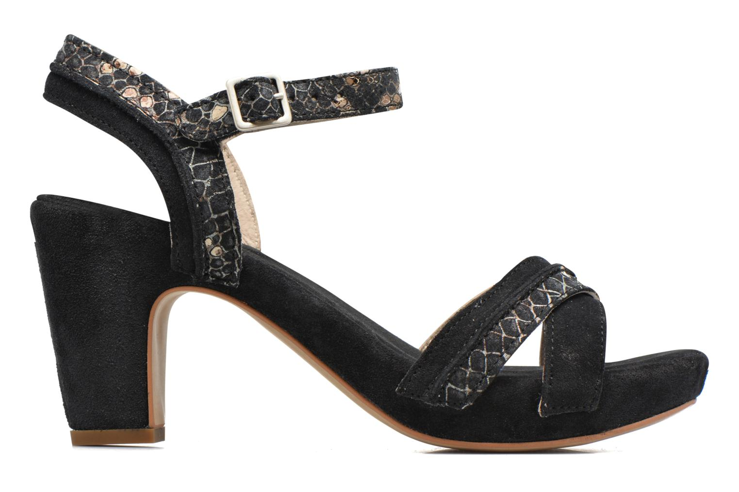 Sandals Khrio Chrisly Black back view