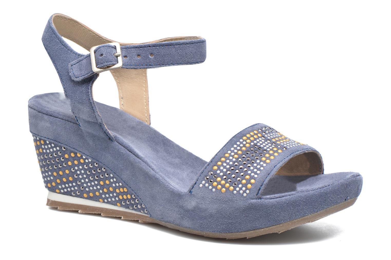 Sandales et nu-pieds Khrio Missy Bleu vue détail/paire
