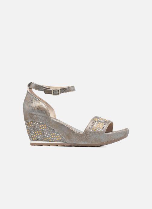 Sandales et nu-pieds Khrio Maika Gris vue derrière