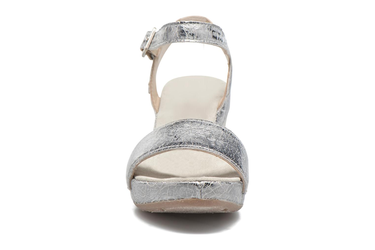 Sandals Khrio Tahia Silver model view