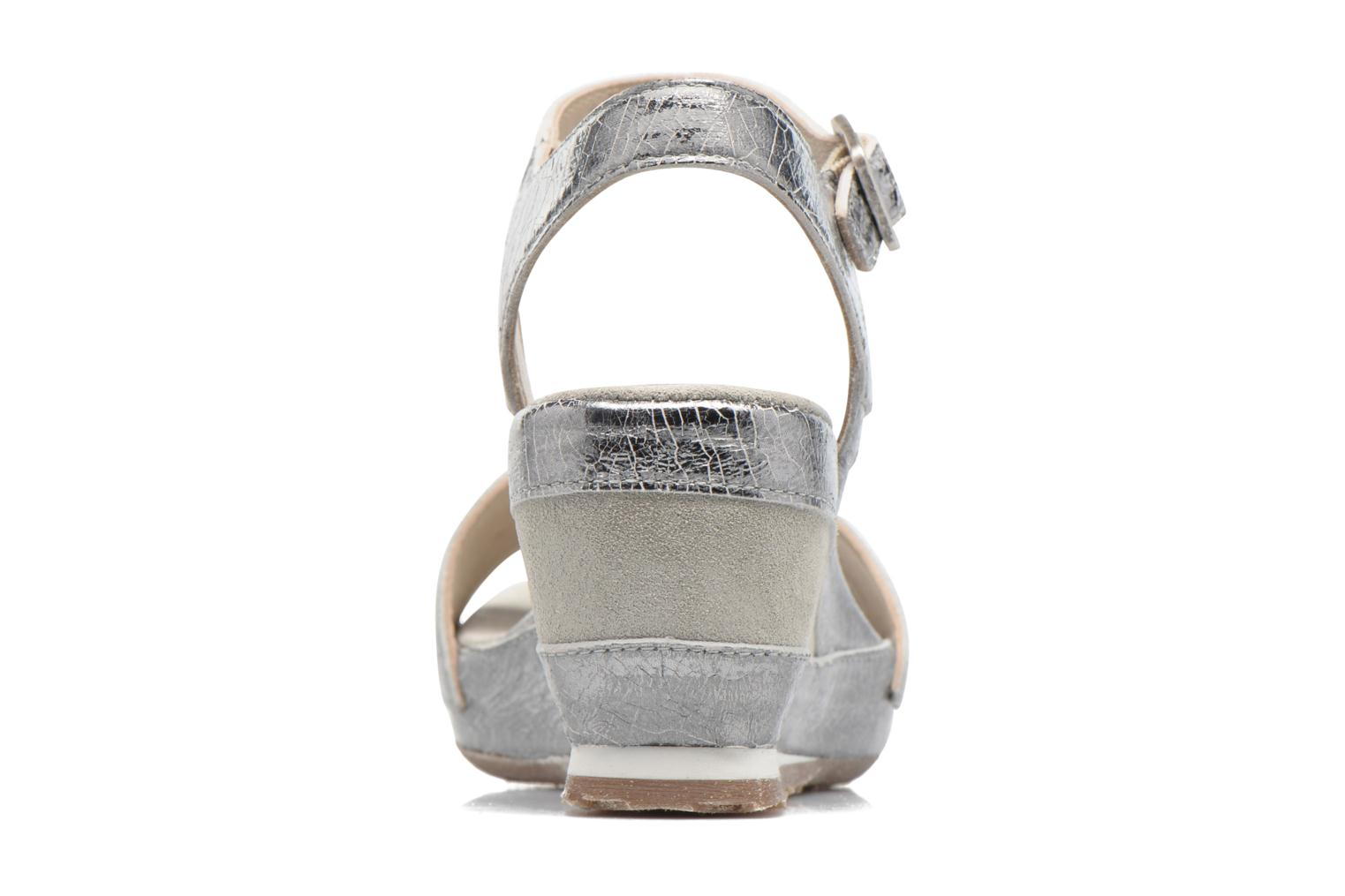 Sandals Khrio Tahia Silver view from the right