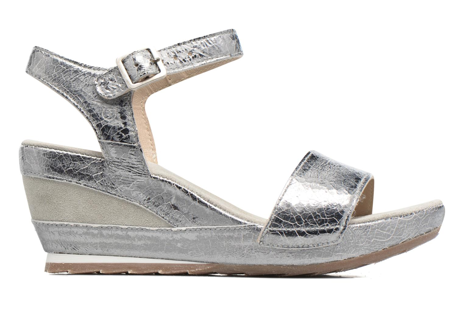 Sandals Khrio Tahia Silver back view