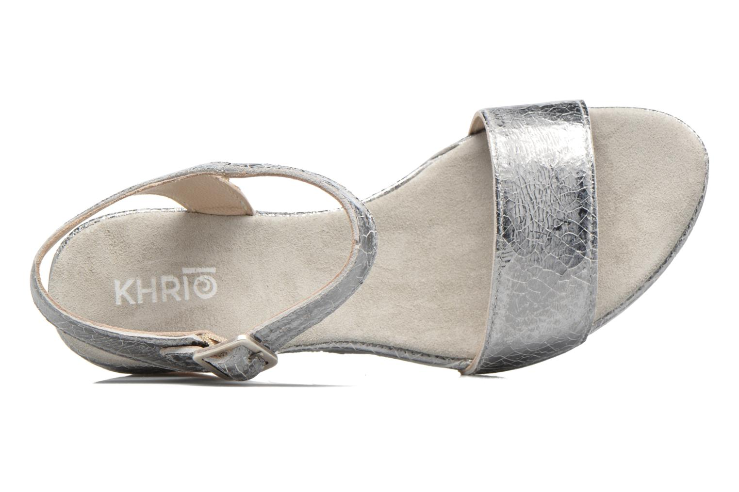 Sandals Khrio Tahia Silver view from the left