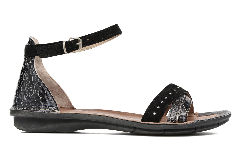 Sandales et nu-pieds Khrio Tiara Noir vue derrière