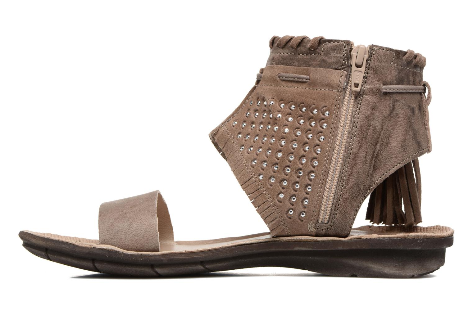 Sandals Khrio Nora Brown front view