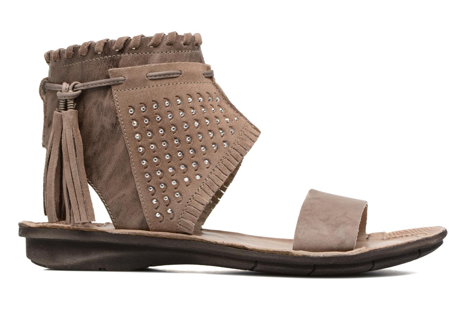 Sandals Khrio Nora Brown back view