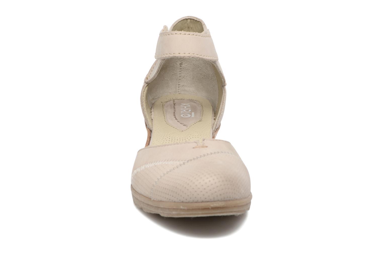 Sandales et nu-pieds Khrio Parissa Argent vue portées chaussures