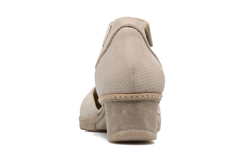 Sandales et nu-pieds Khrio Parissa Argent vue droite