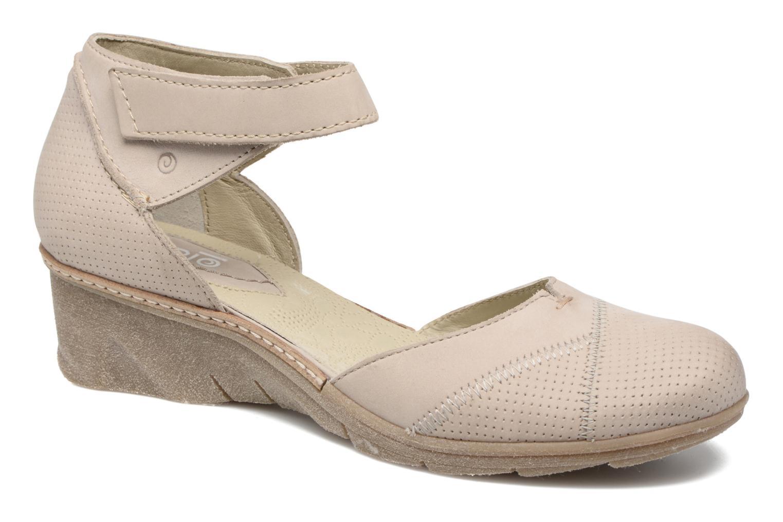 Sandales et nu-pieds Khrio Parissa Argent vue détail/paire