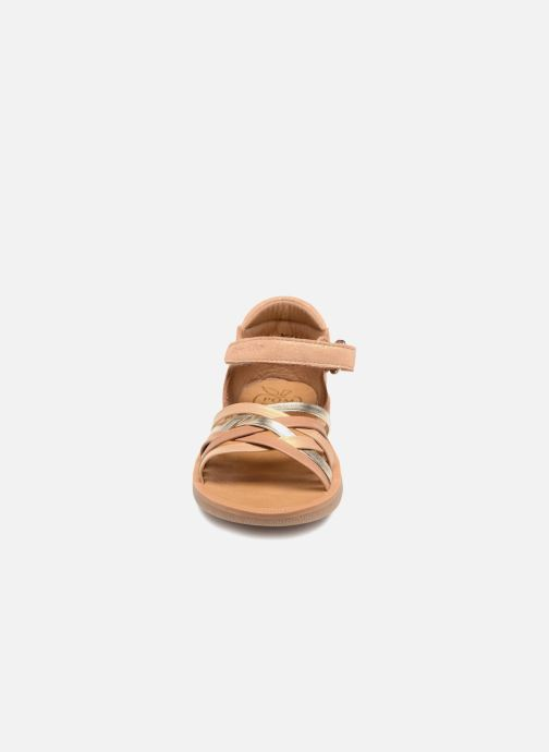 Sandals Pom d Api Poppy Lux Brown model view