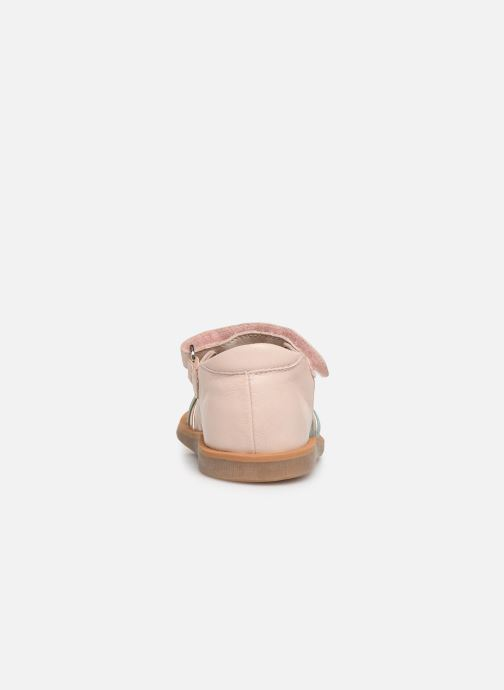 Sandals Pom d Api Poppy Lux Pink view from the right
