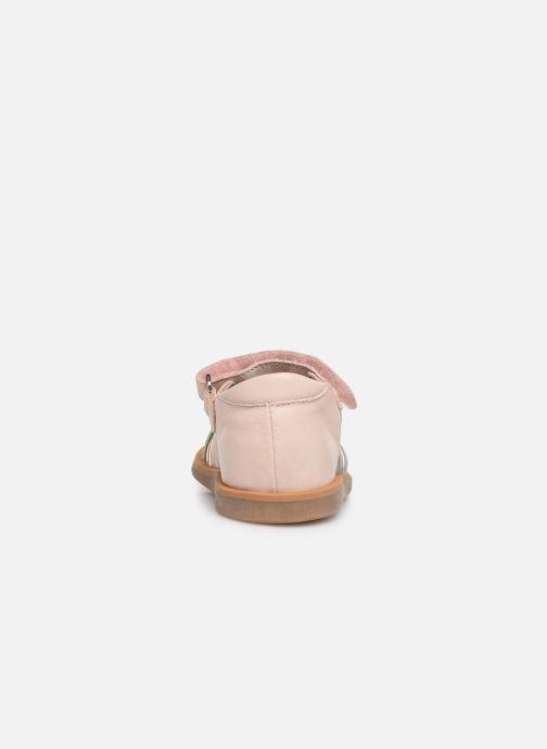 Sandales et nu-pieds Pom d Api Poppy Lux Rose vue droite