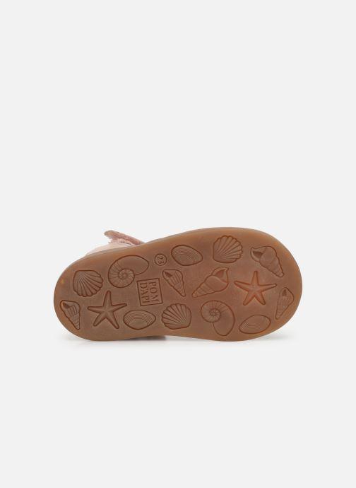 Sandales et nu-pieds Pom d Api Poppy Lux Rose vue haut