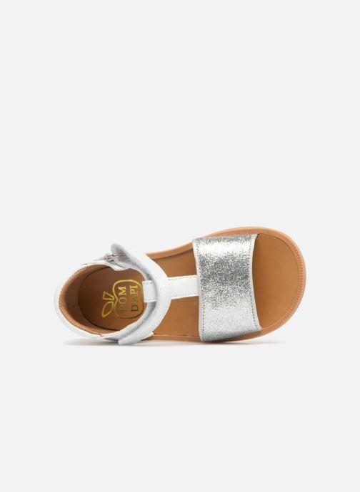Sandales et nu-pieds Pom d Api Poppy Tao Easy Blanc vue gauche