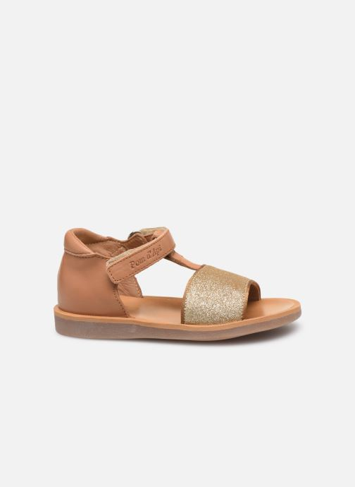 Sandales et nu-pieds Pom d Api Poppy Tao Easy Beige vue derrière