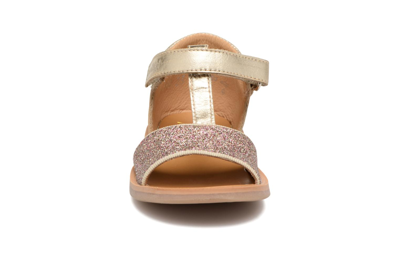 Sandales et nu-pieds Pom d Api Poppy Tao Easy Or et bronze vue portées chaussures