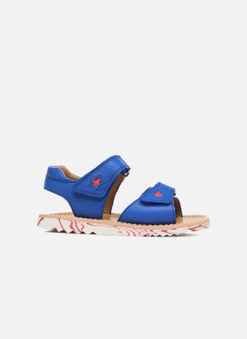 Sandales et nu-pieds Pom d Api Waff Kastro Bleu vue derrière
