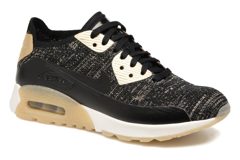99b8e7c1c8bf Sneaker Nike W Air Max 90 Ultra 2.0 Fk Mtlc schwarz detaillierte  ansicht modell