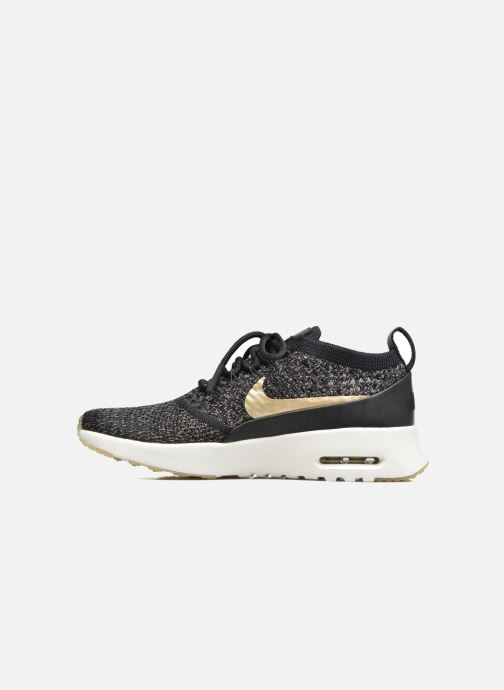Baskets Nike W Air Max Thea Ultra Fk Mtlc Noir vue face