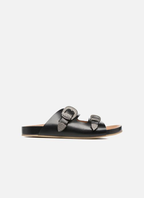 Sandales et nu-pieds Sonia Rykiel Flat Rykiel Buckle Noir vue derrière