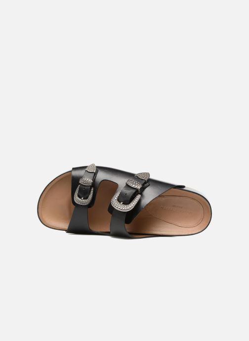 Sandali e scarpe aperte Sonia Rykiel Flat Rykiel Buckle Nero immagine sinistra