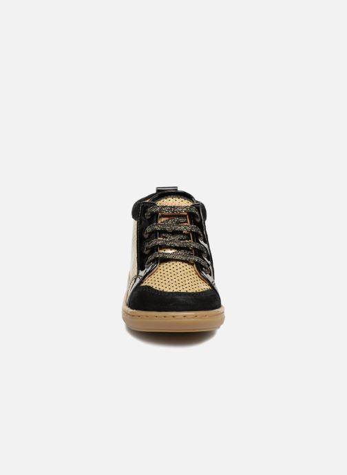 Bottines et boots Shoo Pom Bouba New Cover Or et bronze vue portées chaussures