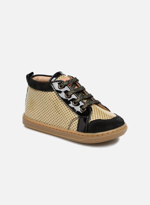 Bottines et boots Shoo Pom Bouba New Cover Or et bronze vue détail/paire