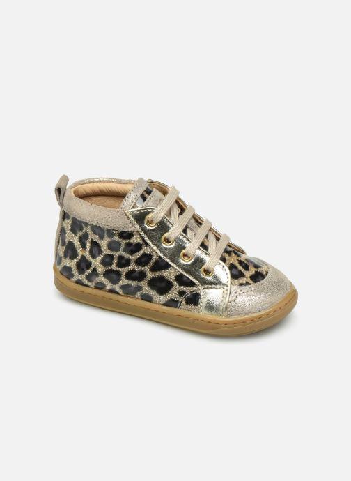Bottines et boots Shoo Pom Bouba New Cover Marron vue détail/paire