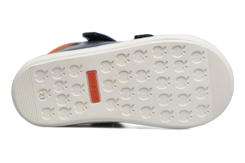 Bottines et boots Shoo Pom Bouba New Scratch Bleu vue haut