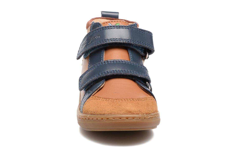 Bottines et boots Shoo Pom Bouba New Scratch Marron vue portées chaussures