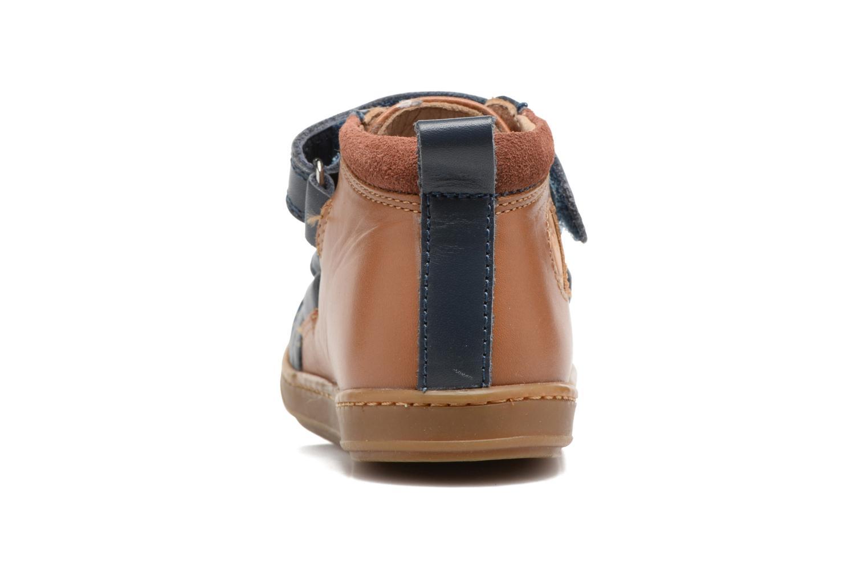 Bottines et boots Shoo Pom Bouba New Scratch Marron vue droite